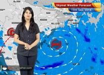 Weather Forecast for Sep 19: Rain in Odisha, West Bengal, Andhra Pradesh