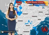 Weather Forecast for Sep 23: Rains likely in Delhi, Uttarakhand, Odisha, Tamil Nadu and Kerala