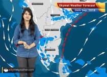 Weather Forecast for Sep 26: Rain in Kolkata, Odisha, West Bengal, East Jharkhand