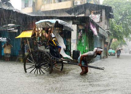 Rain in Kolkata