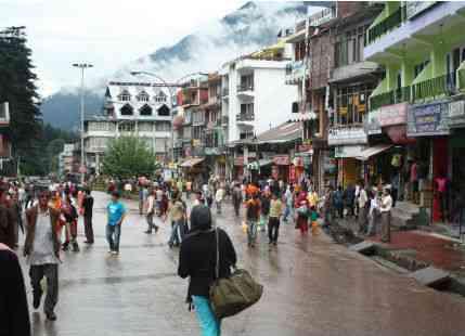 Rain-in-Manali