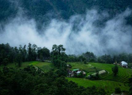 Sikkim Rains 1