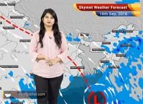 Weather Forecast for Sep 18: Rain in parts of Madhya Pradesh, Konkan, Chhattisgarh