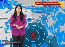 Weather Forecast for Sep 24: Rain in Delhi, Punjab, Haryana, Uttarakhand