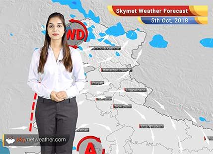 Weather Forecast for Oct 5: Rain in Kerala to get heavy, Madhya Maharashtra may see some rainfall
