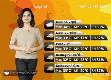 Maharashtra Weather Forecast for Oct 11: Dry and warm weather continues over Maharashtra