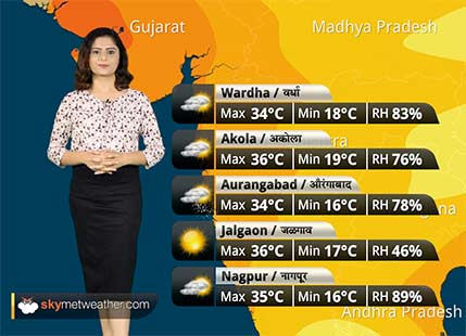 Maharashtra Weather Forecast for Oct 25: Maharashtra faces Drought like conditions, Weather becomes dry and hot