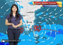 Weather Forecast for Oct 3: Rain in Kerala, Tamil Nadu, hot weather in Rajasthan, Gujarat
