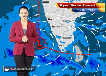 Weather Forecast for Oct 6: Heavy rain in Chennai, Kerala, Tamil Nadu; hot weather in Northwest India
