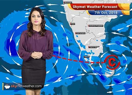 Weather Forecast for Oct 7: Rain in Chennai, Bengaluru, TN, Kerala, Karnataka, dry in Delhi, Mumbai, Gujarat