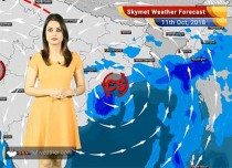 Weather Forecast for Oct 11: Cyclone Titli to give heavy rain in Odisha, Andhra, West Bengal