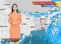 Weather Forecast for Oct 2: Rains ahead for Kerala, Coastal Karnataka, Interior parts of Tamil Nadu