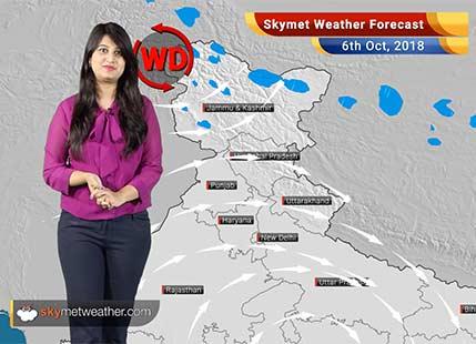 Weather Forecast for Oct 6: Cyclone brewing in Arabian Sea; heavy rains in Kerala, Tamil Nadu, Chennai
