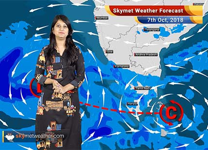 Weather Forecast for Oct 7: Cyclone to form in Arabian Sea, rain in South India
