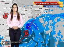 Weather Forecast for Oct 9: Rains ahead in Coastal Odisha and Gangetic West Bengal