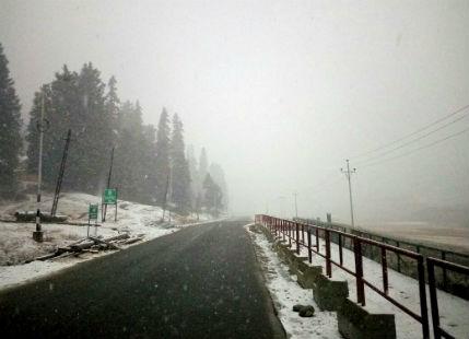 Seasons first snowfall in Leh_Twitter 600