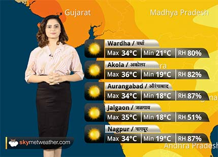 Maharashtra Weather Forecast for Oct 16: Warm and dry weather to continue in Maharashtra