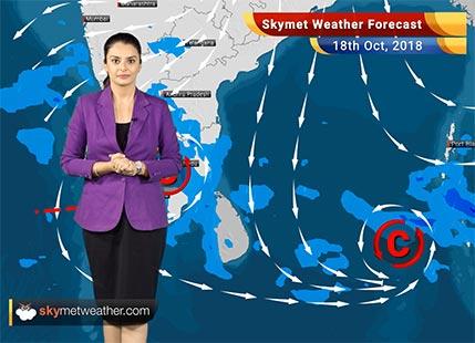 Weather Forecast for Oct 18: Rain inBengaluru, Kerala, TN,Hyderabad and Chennai, Delhi pollution to rise