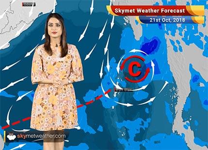 Weather Forecast for Oct 21: Rain in Chennai, TN, Kerala, Karnataka, Pollution in Delhi to rise