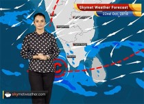 Weather Forecast for Oct 22: Parts of Tamil Nadu, Kerala, Karnataka to witness rain; rest of the country remains dry