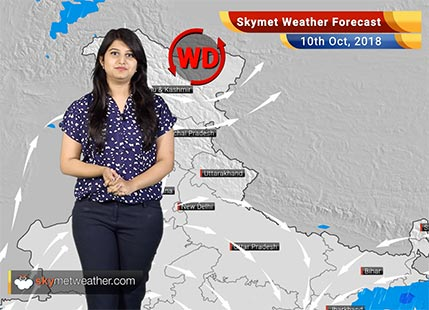 Weather Forecast for Oct 10: Rain in Odisha, West Bengal, Coastal Andhra Pradesh in view of Cyclone Titli