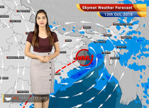 Weather Forecast for Oct 13: Rains in Kolkata, West Bengal, Northeast; Cyclone Titli weakens into well marked Low-Pressure Area