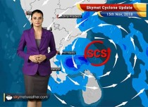 Cyclone Gaja to weaken before landfall over Tamil Nadu