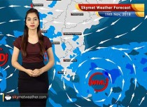 Weather Forecast for Nov 19: Well-Marked Low to bring rains over Tamil Nadu, Delhi pollution to intensify