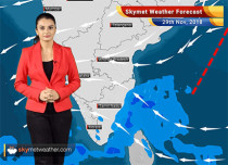 Weather Forecast for Nov 29: India experiences dry weather; Pollution level to improve marginally
