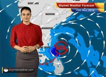 Weather Forecast for Nov 15: Severe Cyclone Gaja to give heavy rains in parts of TN; rains in Delhi give marginal relief from pollution