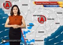 Weather Forecast for Nov 19: Rains over Tamil Nadu, Kerala, Karnataka; Northwest to remain dry