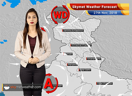 Weather Forecast for Nov 27: Pollution in Delhi in extremely poor category, Northeast Monsoon to bid farewell soon