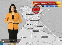 Weather Forecast for Nov 30: Rains over Tamil Nadu, Kerala and Karnataka; Rest India to remain dry