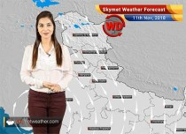 Weather Forecast for Nov 11: Rain and snowfall in Northern India, Pollution to increase in Delhi-NCR