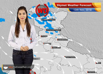 Weather Forecast for Nov 13: Cyclone Gaja to bring light rain in Andhra Pradesh, Tamil Nadu, Heavy rain in Andaman and Nicobar Islands
