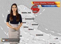 Weather Forecast for Nov 15: Rainfall in Tamil Nadu; Dry weather in remaining North, Central and Northeast India