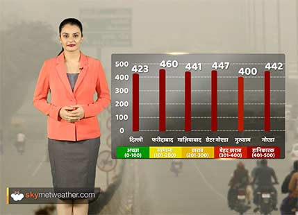 Delhi continues to battle it's fight with pollution; no relief foreseen