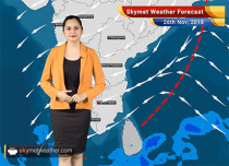 Weather Forecast for Nov 26: Rain in Interior Tamil Nadu and parts of Kerala