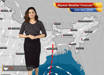 Weather Forecast for Nov 26: Rain in Tamil Nadu and Kerala for expected
