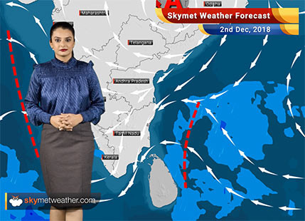 Weather Forecast for Dec 2: Rains to make a comeback in Tamil Nadu; pollution levels will be up once again