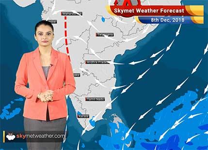 Weather Forecast for Dec 8: Rains in TN, Kerala,Marathwada; drop in mercury over East UP, Bihar