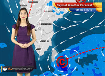 Weather Forecast for Dec 9: Snowfall over Jammu and Kashmir, Himachal Pradesh, rains over MP