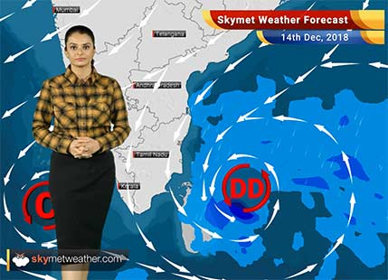 Weather Forecast for Dec 14: Deep depression to intensify into a Cyclone, heavy rains soon over Tamil Nadu, Andhra