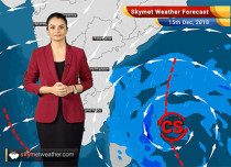 Weather Forecast for Dec 15: Cyclone Phethai likely in Bay of Bengal, heavy rains in Andhra and TN