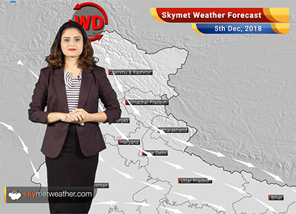 Weather Forecast for Dec 5: Rains likely over South India, Delhi pollution to continue under very poor category