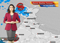 Weather Forecast for Dec 9: Rains over parts of Jammu Kashmir, Himachal Pradesh, Uttarakhand