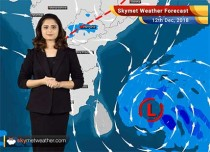 Weather Forecast for Dec 12: Jammu Kashmir and Himachal Pradesh to experience rain and snow