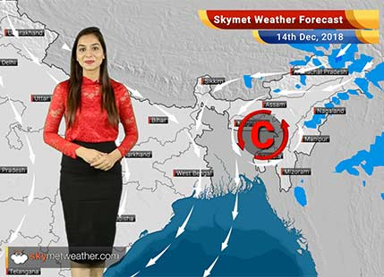 14 दिसंबर का मौसम पूर्वानुमान: उत्तर और पूर्वी भारत में सर्दी अब चरम पर; दिल्ली में घटेगा प्रदूषण..