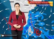 Weather Forecast for Dec 3: Rain in Tamil Nadu, Andhra Pradesh, South Andaman Island