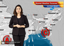 Weather Forecast for Dec 3: RainoverTamil Nadu, Andhra Pradesh; Central India to remain dry